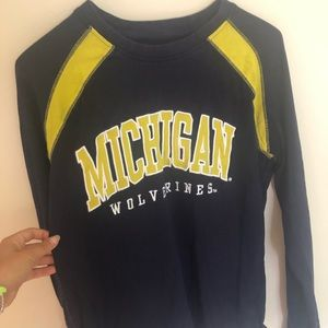 Michigan Wolverines Long Sleeve Size L
